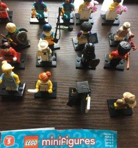 minifigures lego мини фигурки