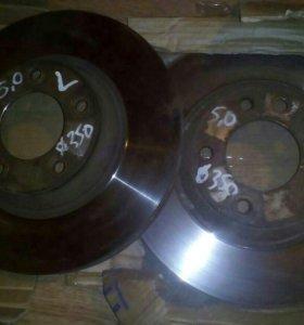 Тормозные диски. Туарег.