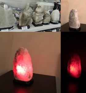Соляные лампа
