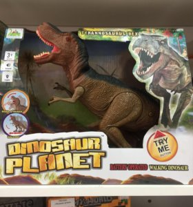 Динозавр на батарейках, новый