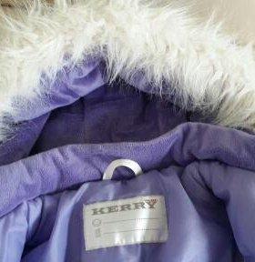 Куртка девочке Kerry Fin зима р 86-92 1-2 года