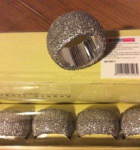 Новые наборы колец для сервировки салфеток 4шт
