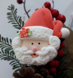 Ёлочное украшение Дед Мороз