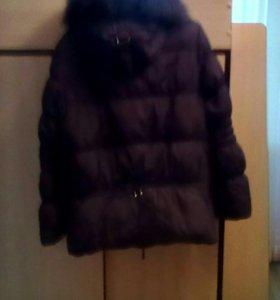 Продаю куртку зимнюю р-р 48.