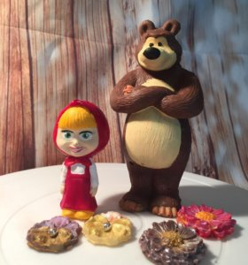 Декор на торт фигурки из мультфильма