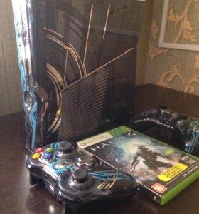 X-Box 360 Halo Edition + Kinect