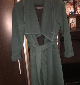 Пальто халат 100% кашемир
