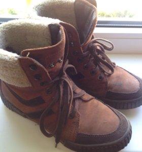 Ботинки на мальчика, р-р 34