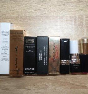 Косметика Dior, YSL, Chanel, Estee Lauder...