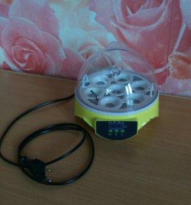 Мини инкубатор для 7 яиц.из Китая
