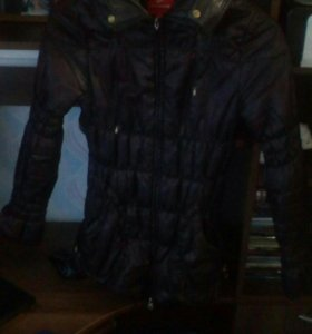 Пуховик-куртка демесезонная
