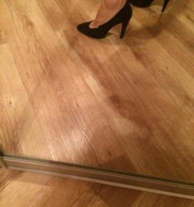 Туфли, натуральная замша, CorsoComo, 38