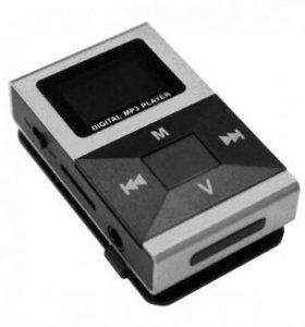 MP3-плеер с ДИСПЛЕЕМ ZH-857 серебристый