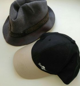 Мужские кепки, бейсболки, шляпа