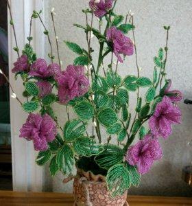 Новые Розы из бисера