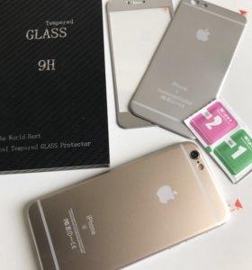 Защитное 3d стекло для iphone
