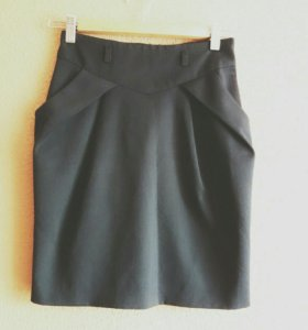 Костюм: юбка и жилет