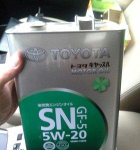 Масло моторное  Toyota 5w20