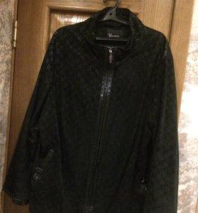Куртка замшевая 58-60р.