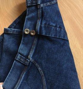 Леггинсы цветом джинсы