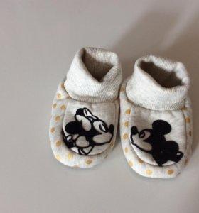 Тапочки Disney H&M 20-21 новые!