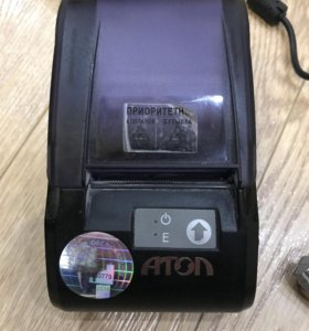 Касса принтер и сканер штрихкодов Стмбол