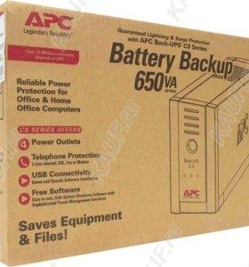 ИБП APC Schneider Electric Back-UPS CS 650VA 230V