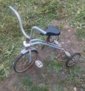 Велосипед ссср. 3 колеса.