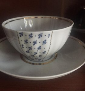 Чайная пара Дулево