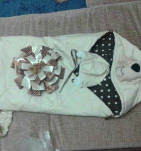 Одеяло-трансформер на выписку