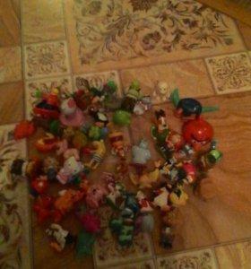 """Маленькие игрушки""""Из Киндера"""""""