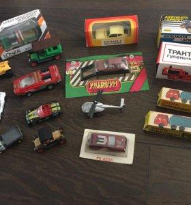 Машинки игрушечные 16 шт