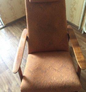 Кресло-качалка дуб