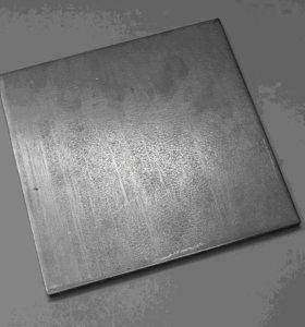 Пластины металлические, 100х100, 150х150, 4-6 мм