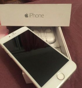 Iphone 6 16 gb silver _( оригинал)