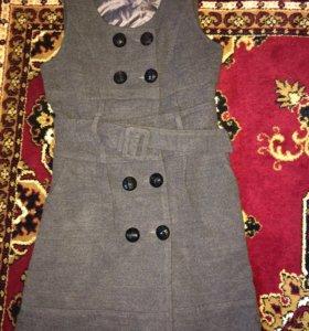 Сарафан с пиджаком кашемировые