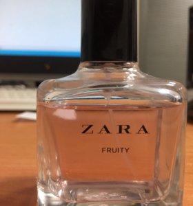 Zara fruity туалетная вода