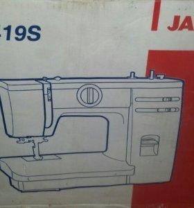 Срочно продам janome 319s