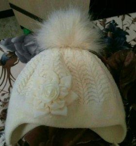 Продам шапку для девочки