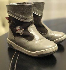 Сапоги, ботинки детские весенние на девочку, 25