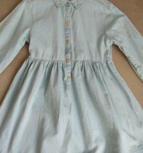 Платье zara 5-6