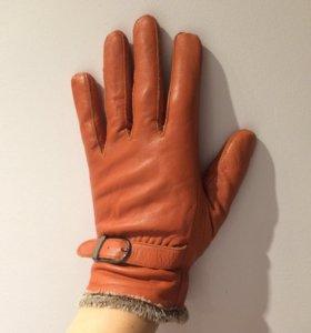 Перчатки из кожи ягненка