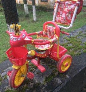 Детский 3-колесный велосипед Ягуар.Срочно!