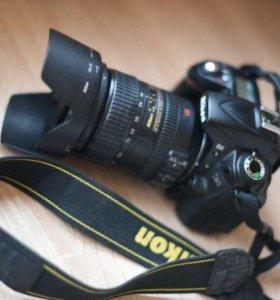Комплект Nikon d90+AF-S Nikkor 18-200mm+UV фильтр