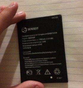 Батарея , аккумулятор для Senseit A109