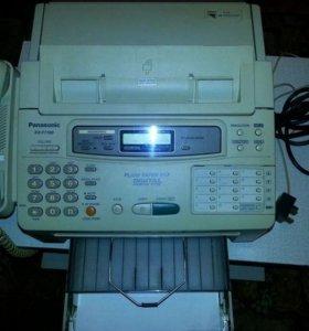 Факс Panasonic KX-F1100 на бумаге A4 б/у