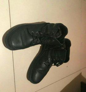 Ботинки мужские, на зиму