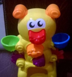 Игрушка для ванны гусеница