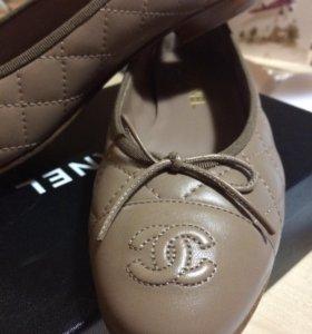 Балетки Chanel оригинал новые