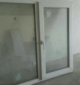 Пластиковое окно новое